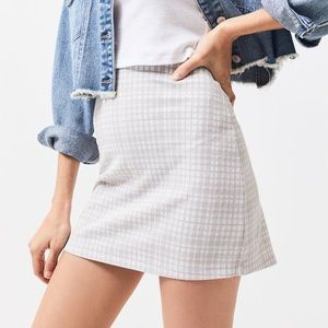 LA hearts fitted skirt